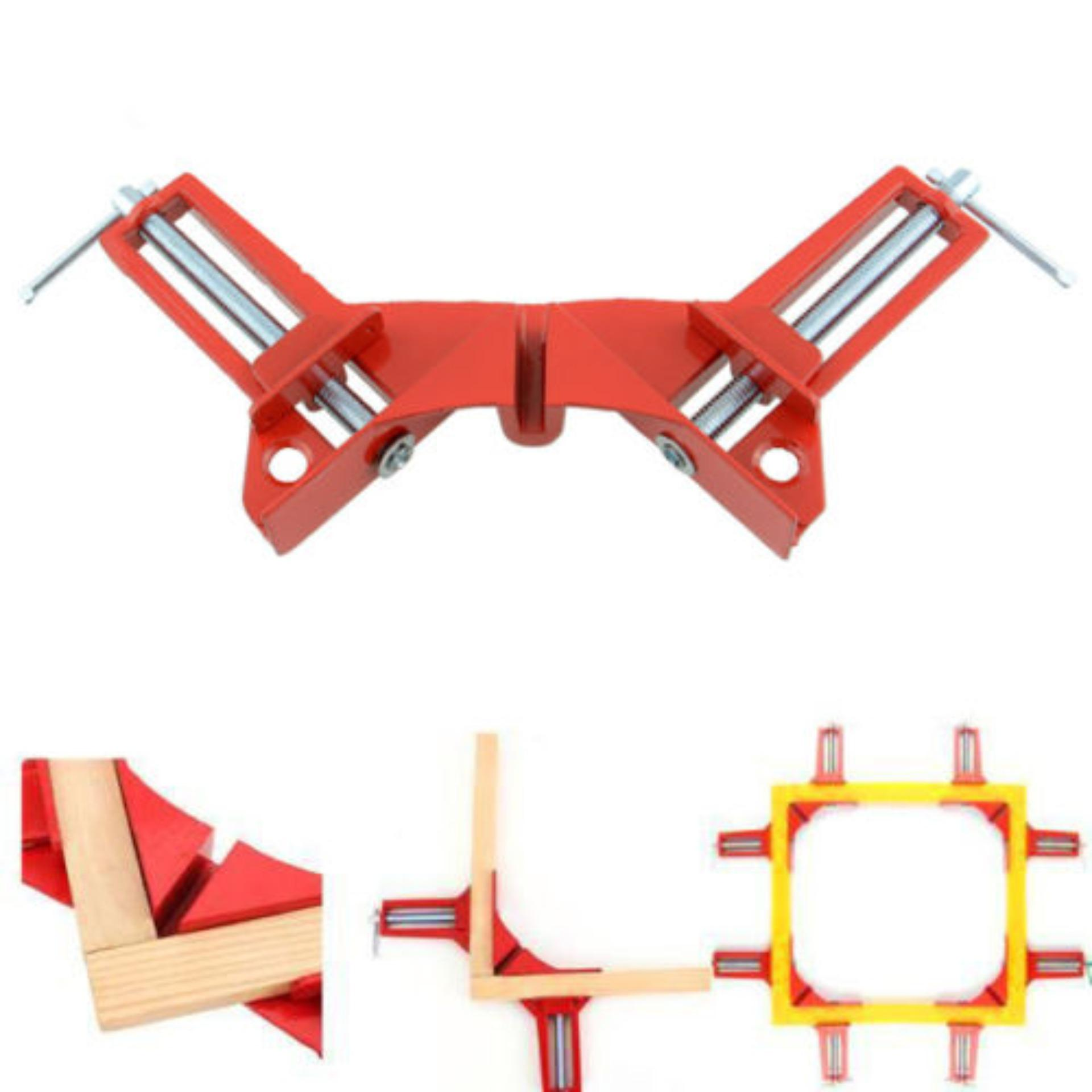 4pcs 75mm Corner And Mitre Frame Holders Woodwork 90 Degree Right Angle 4 Clamps - intl