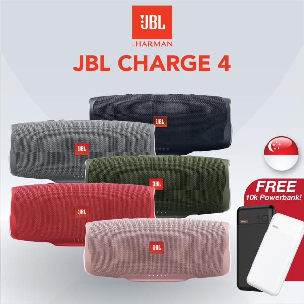 [SG] JBL Charge 4 Portable Wireless Bluetooth Speaker (Waterproof) Singapore