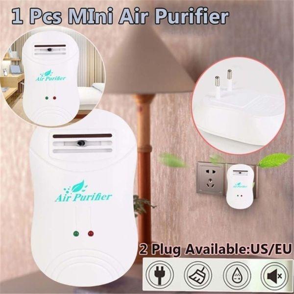 UGAINVI Nhà Mini Thanh lọc Máy làm mát không khí Khử trùng Máy tạo ion Bộ khử mùi Máy lọc không khí Khói thuốc Máy hút bụi