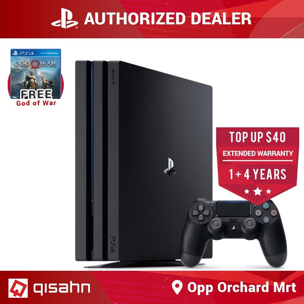 Sony PS4 PlayStation 4 Pro Console God of War Bundle (Black)