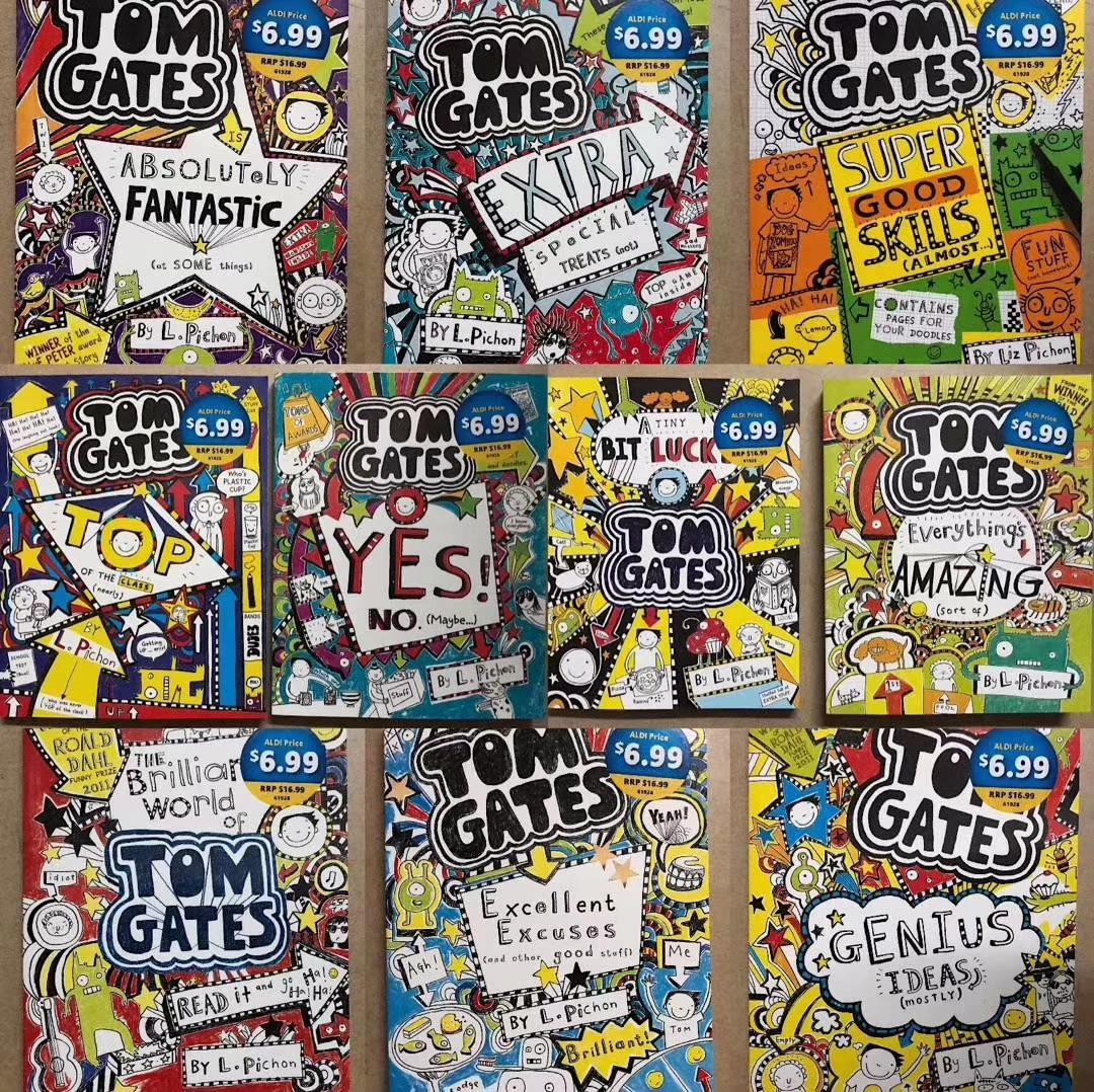 Scholastic Tom Gates book set 10 books c2