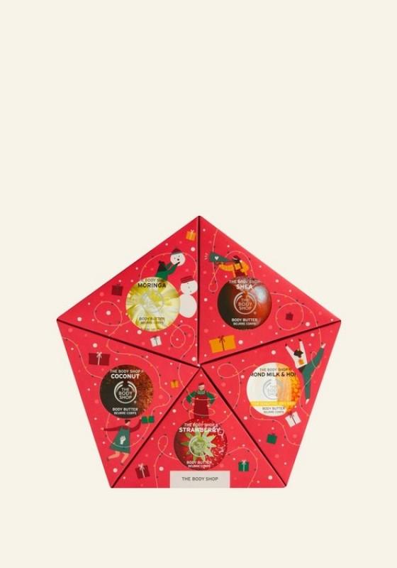 Buy The Body Shop Slather & Nourish Body Butter Gift Star (Christmas Gift Set) Singapore