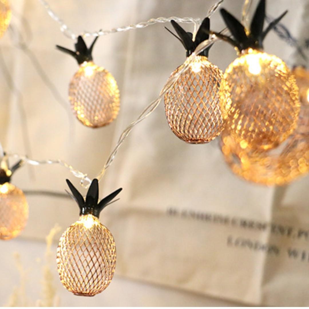 [SG Seller] - Pineapple fairy light
