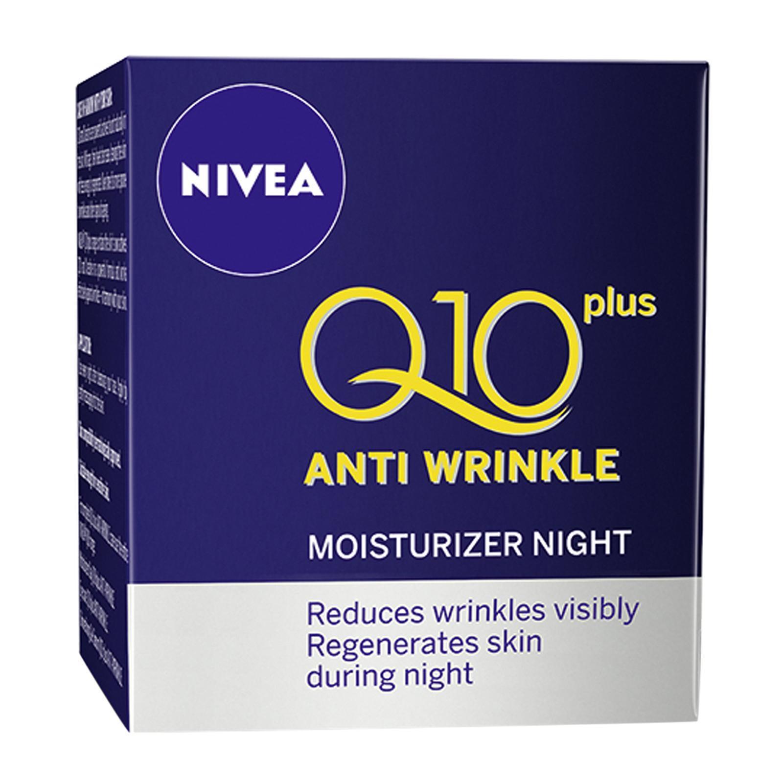 Nivea Face Care for Women Moisturiser Antiwrinkle Q10 Plus Night Care