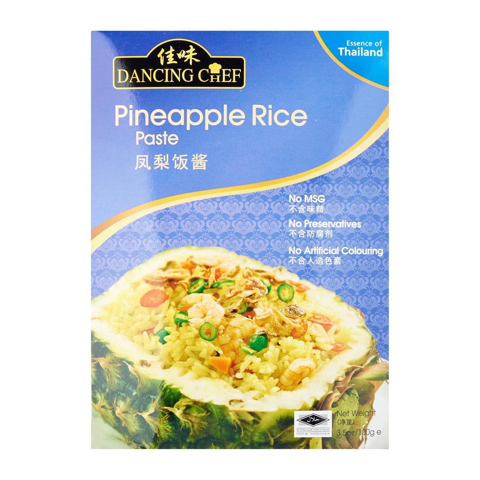 Dancing Chef Pineapple Rice Paste By Redmart.