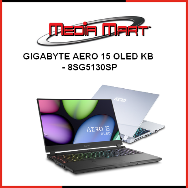Gigabyte AERO 15 OLED KB - 8SG5130SP GBT1076
