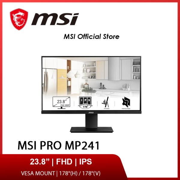 MSI PRO MP241 Monitor ( IPS / 60Hz / Full HD / 24 Inch / VESA)(3Y)