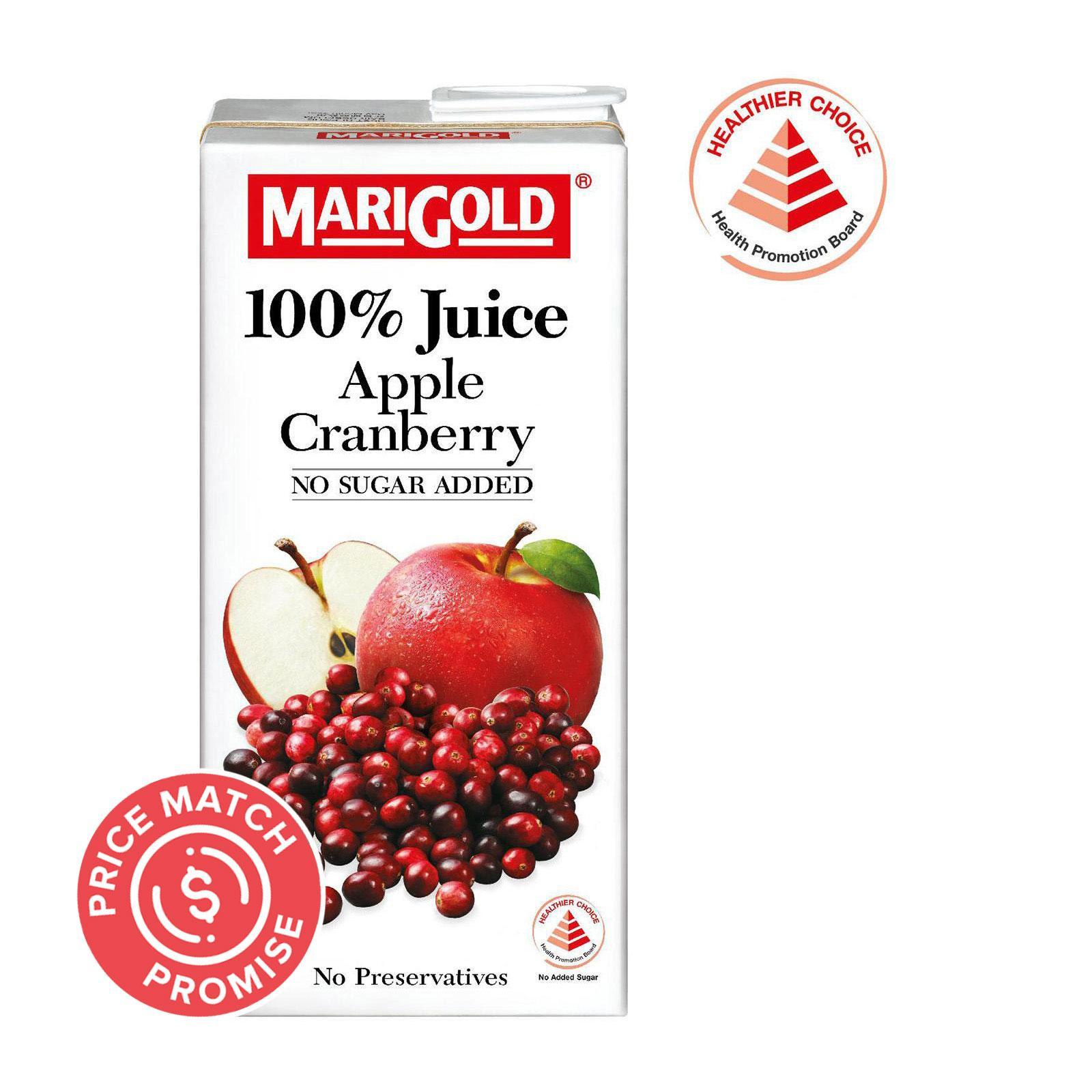 MARIGOLD 100-Percent Cranberry Mixed Fruits Juice