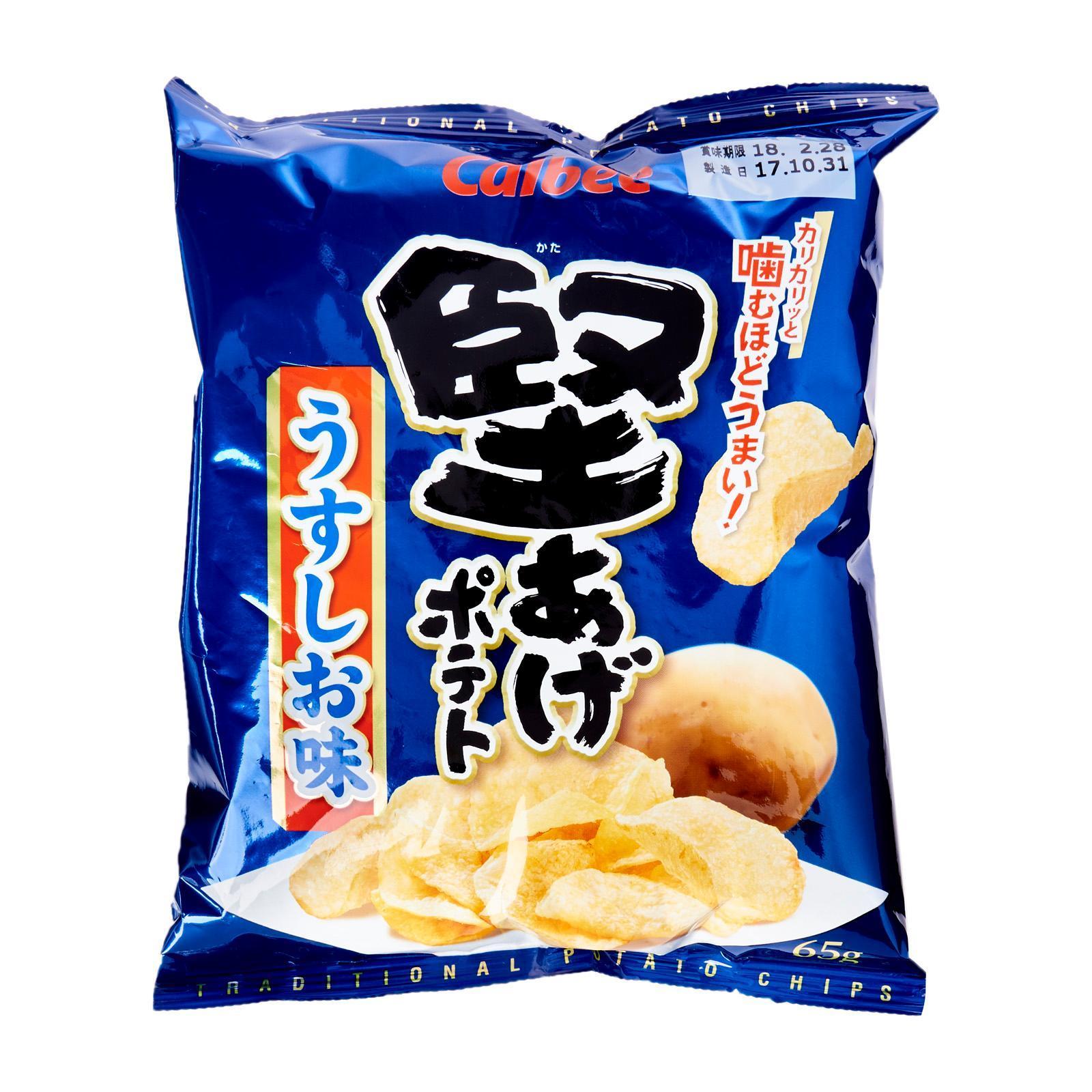 Calbee Kataage Salted Potato Snack