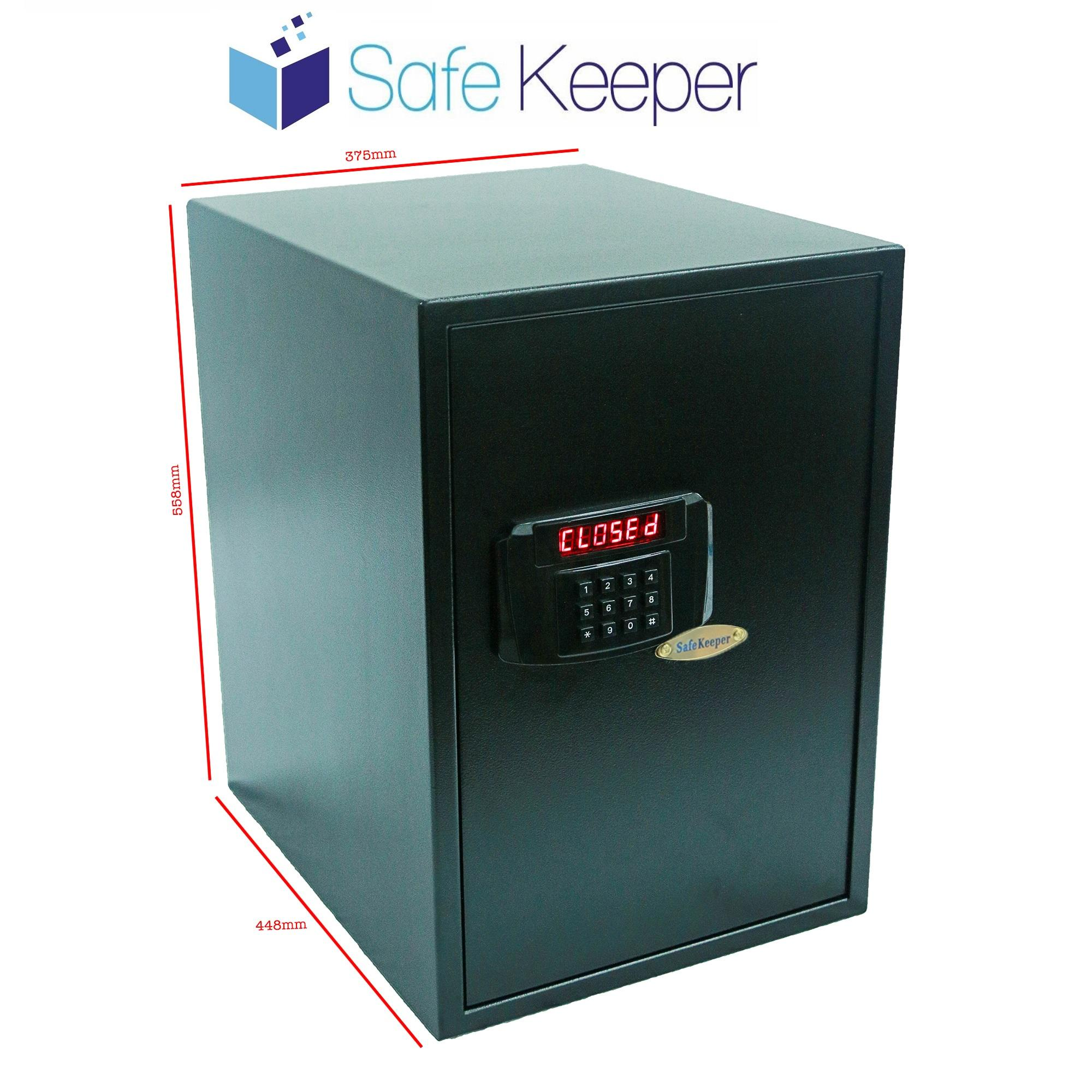 SafeKeeper SK5637 XL Safe (100% New Product) (Color: Black)~ SG Seller ~ Ready Stocks~ FREE Delivery ~ 3 Working Days!