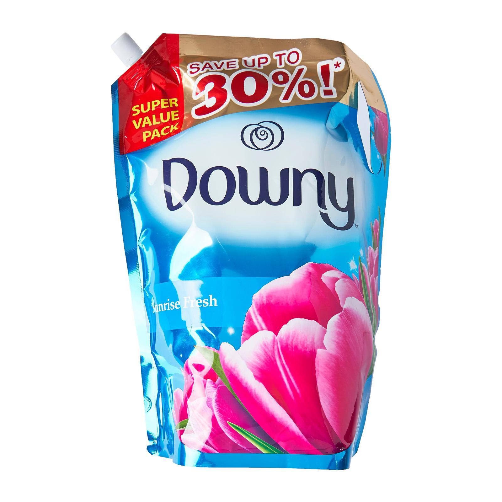 Downy Sunrise Fresh Concentrate Fabric Softener Refill 2.4L