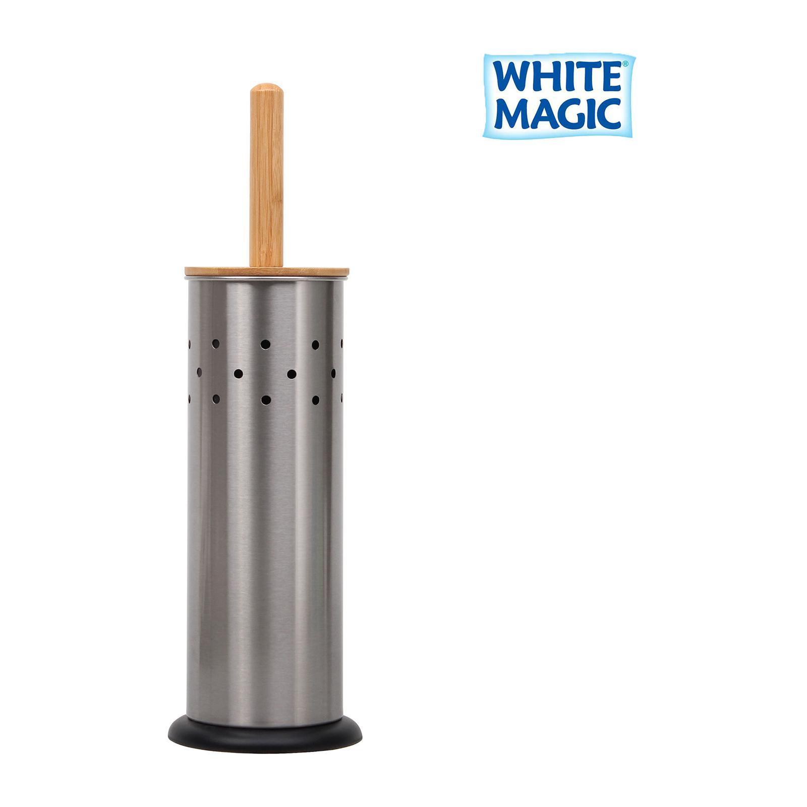 White Magic Eco Basics Toilet Set