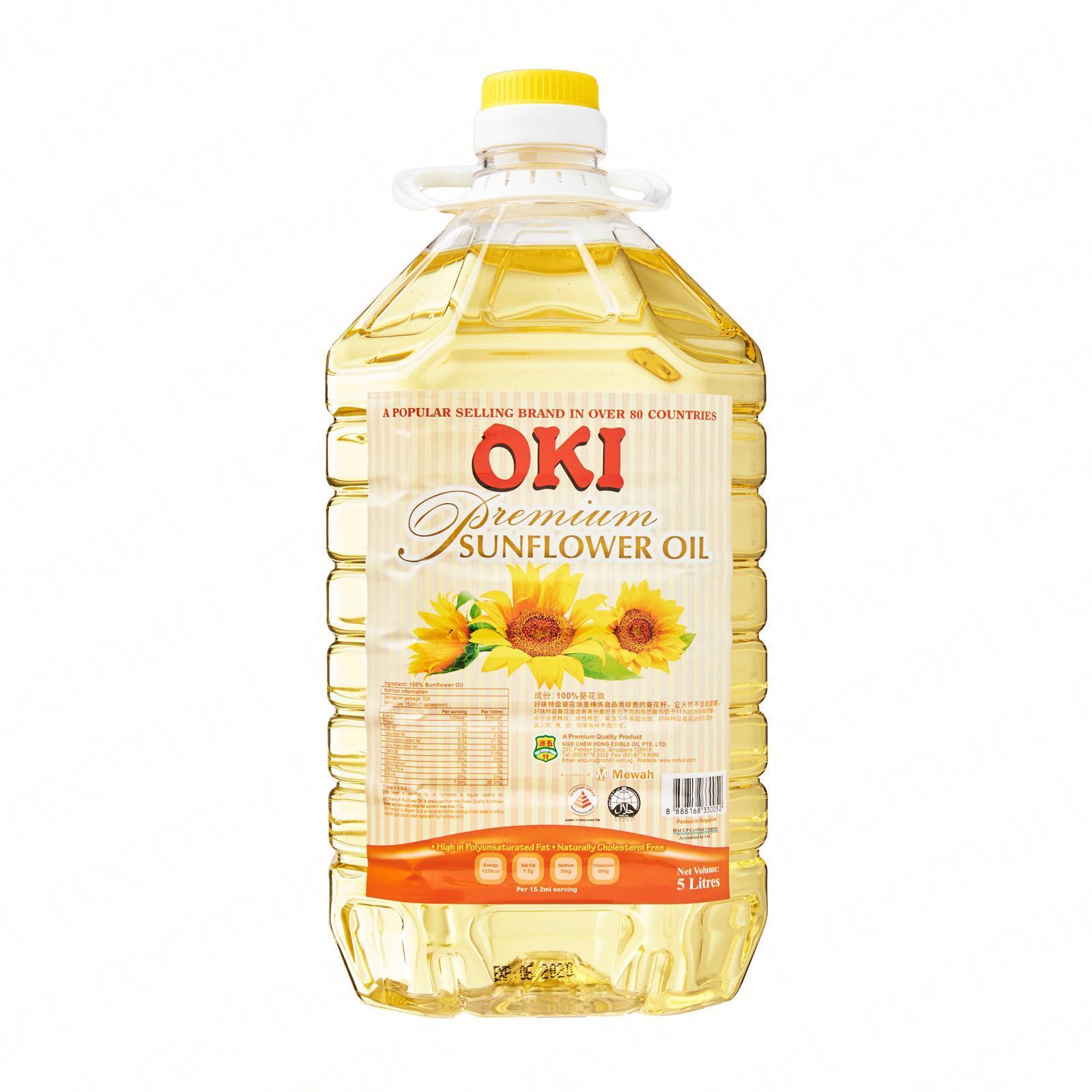 OKI Premium Sunflower Oil 5L