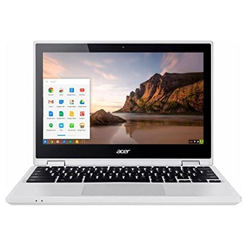 Acer R 11 Convertible 2-in-1 11.6 TouchScreen Chromebook-Intel Celeron N3150, 4GB DDR3L, 32GB eMMC Flash Memory, Chrome-White