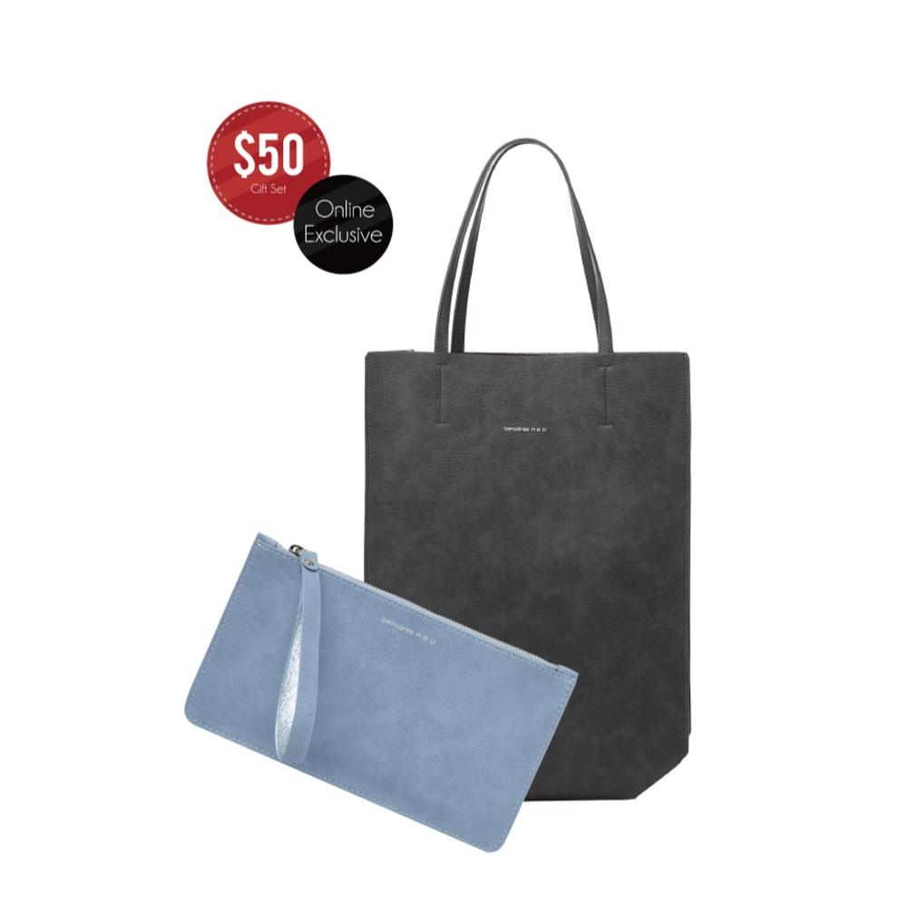 Samsonite RED Clairmonte Tote Bag + Pouch Set