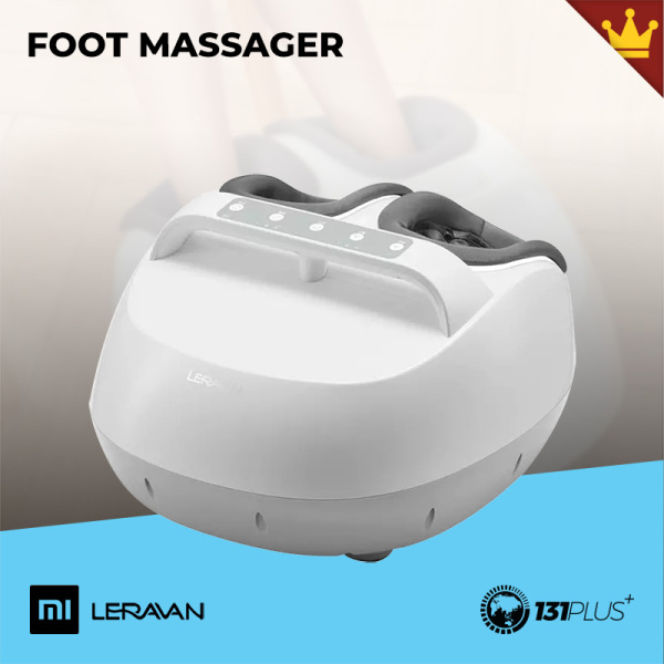 Buy Xiaomi Leravan Foot Massager [ JL-ZJ008, 360° Foot Relief, Hot Compress, Dynamic Airbag, Rolling Wheel, 3 Intensity Levels, 6 Kneading Technique, 2 Smart Timers, Detachable, Washable Cover, Skin-Friendly, Easy Control, Household, Relaxation, Tool ] Singapore