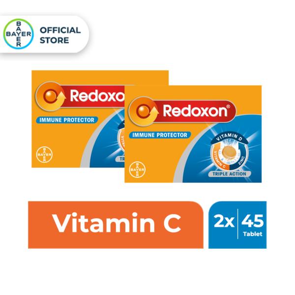 Buy [Bundle of 2] Redoxon Triple Action Orange Effervescent 45 Tablets Exp Jan23 Singapore