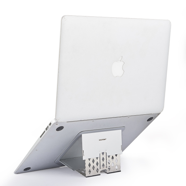 HAILSTORM Invisible Laptop Stand - Slimmest in the World, Stable, Adjustable, Erogonomic Laptop Stand for 10-17 Inch MacBook Pro Air Deskstop Notebook