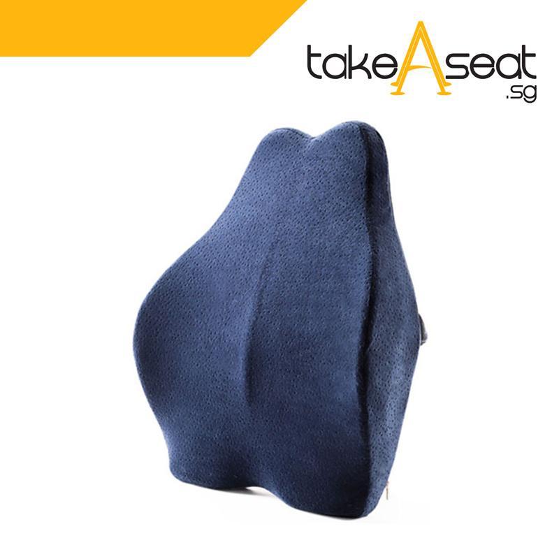 NEW Memory Back Cushion (Blue)