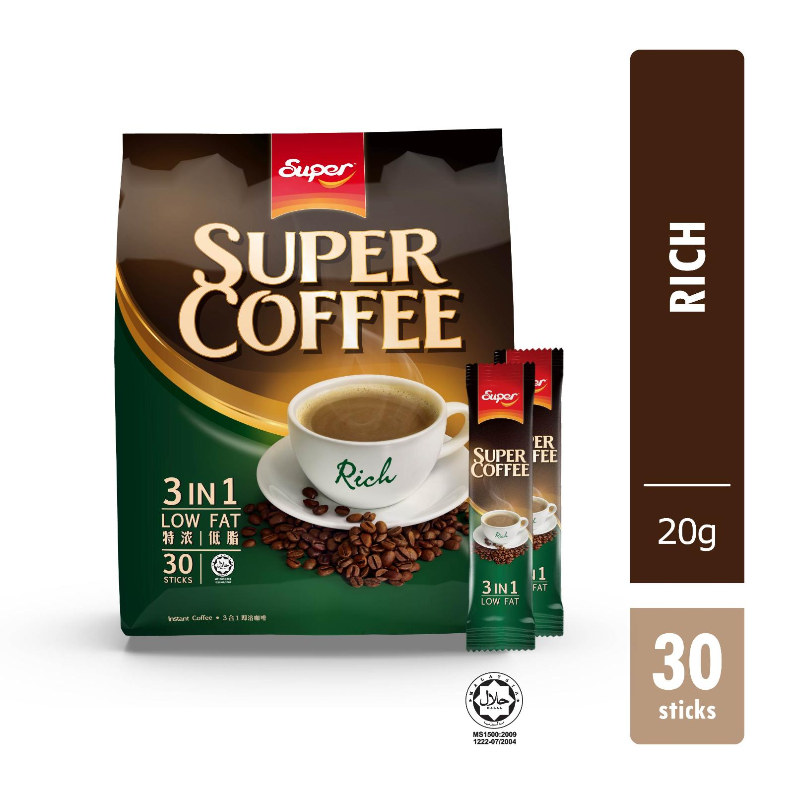 Ye Ye 3 in 1 Instant Coffee Mix - Regular