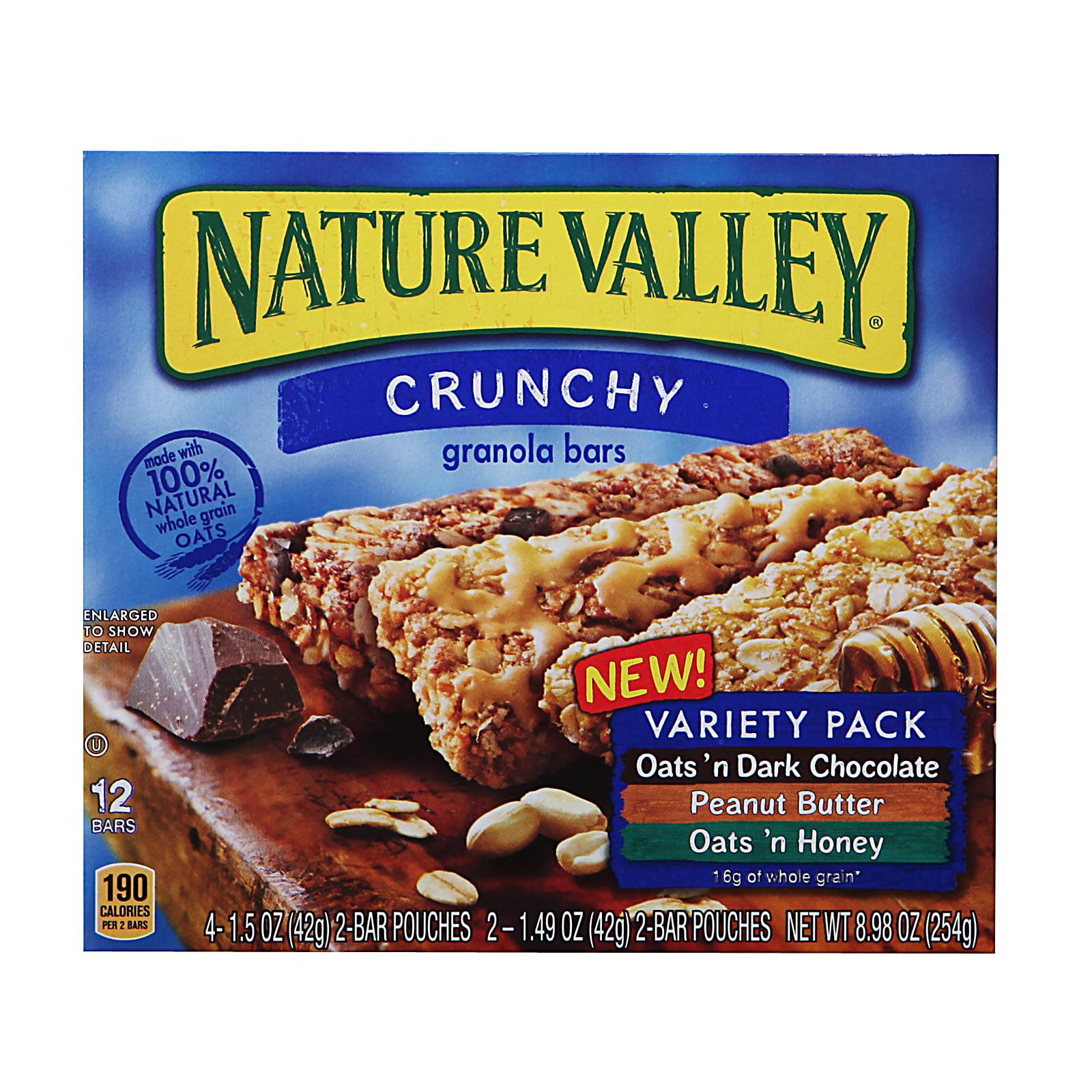 Nature Valley Variety Pack Crunchy Granola Bars By Redmart.