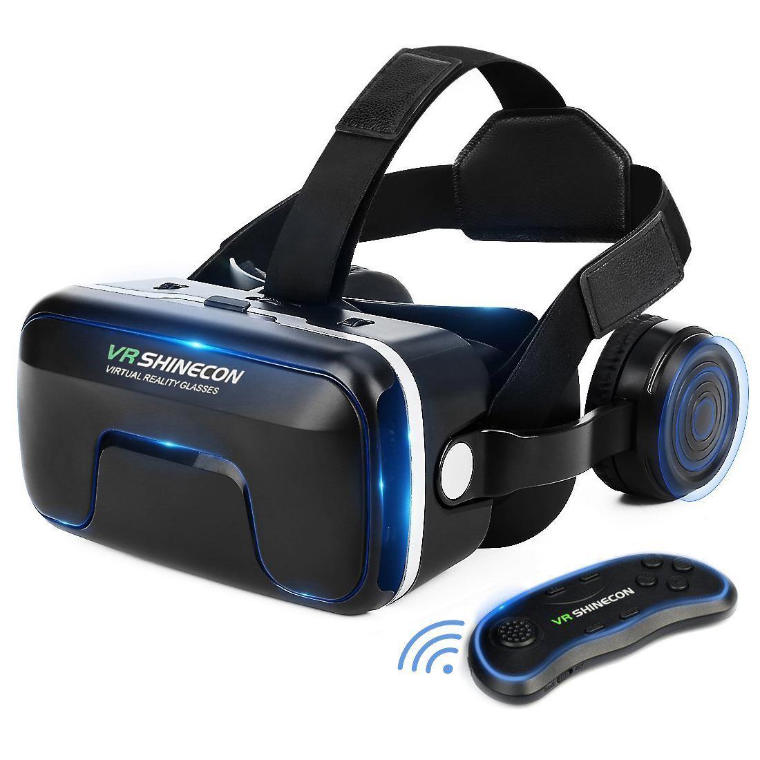 bb7fd9c89af ETVR 3D VR Headset With Remote Controller