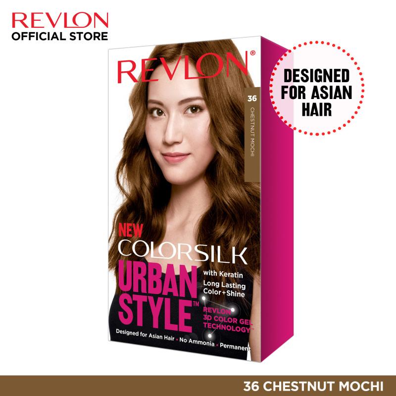 Buy Revlon ColorSilk Urban Style Hair Color NEW Trend Color Permanent Color Box Hair Dye Singapore