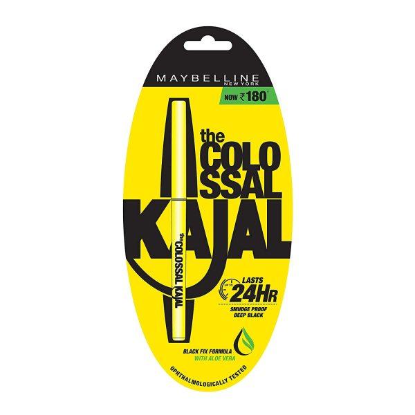 Buy Maybelline Newyork Colossal Kajal Deep Black, 0.35g Lasts 24Hrs Singapore