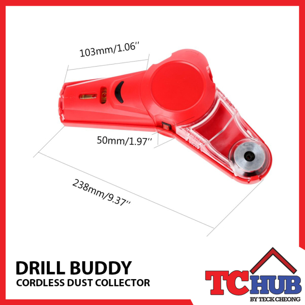 Drill Buddy Cordless Dust Extractor