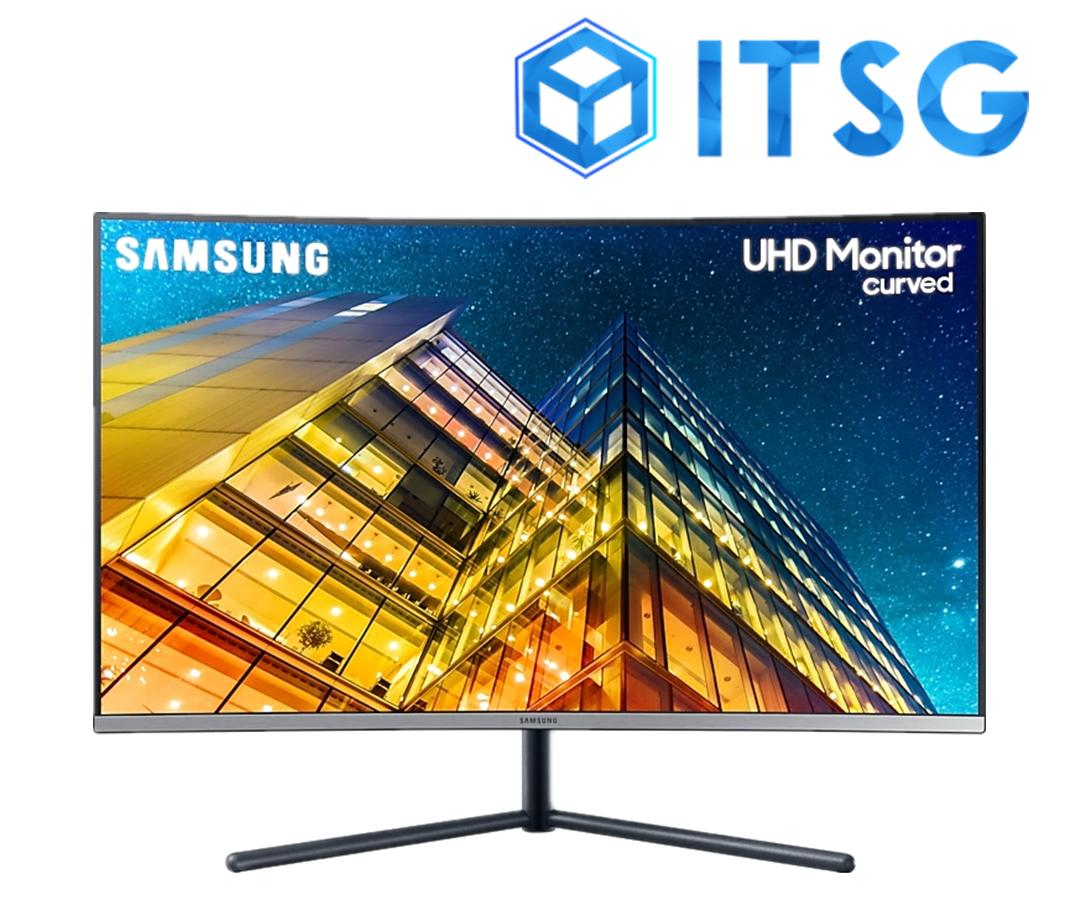Samsung 32 UHD Curved Monitor with 1 Billion Color - LU32R590CWEXXS