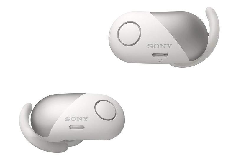Sony Headphone WF-SP700N/WF SP700N Premium Noise Cancelling True Wireless Headphones - (Refurbished) Singapore
