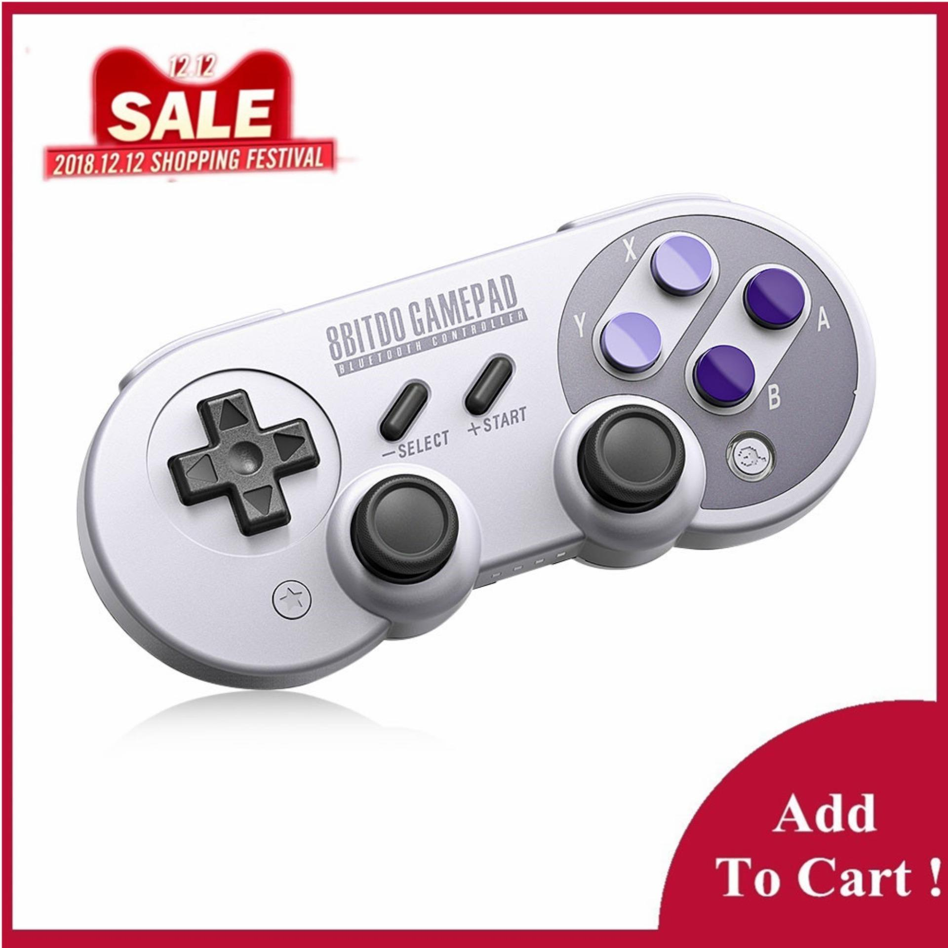 8Bitdo SN30 Pro Wireless Bluetooth Controller with Classic Joystick Gamepad for Android Nintendo Switch Windows macOS Steam