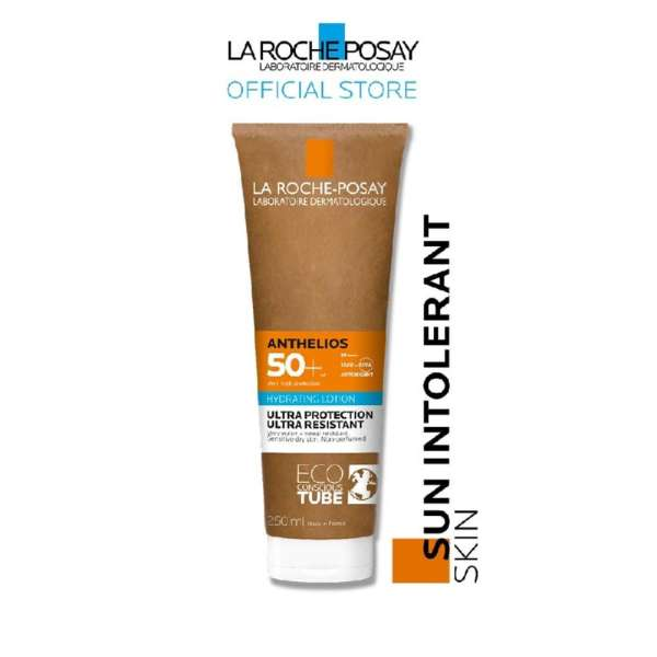 Buy LA ROCHE-POSAY Anthelios 50+ Very High Protection UVB + UVA Antioxidant Body Milk Hydrating Lotion Suitable for Dry Skin (Ultra Protection Very Water & Sweat Resistant) 250ml Singapore