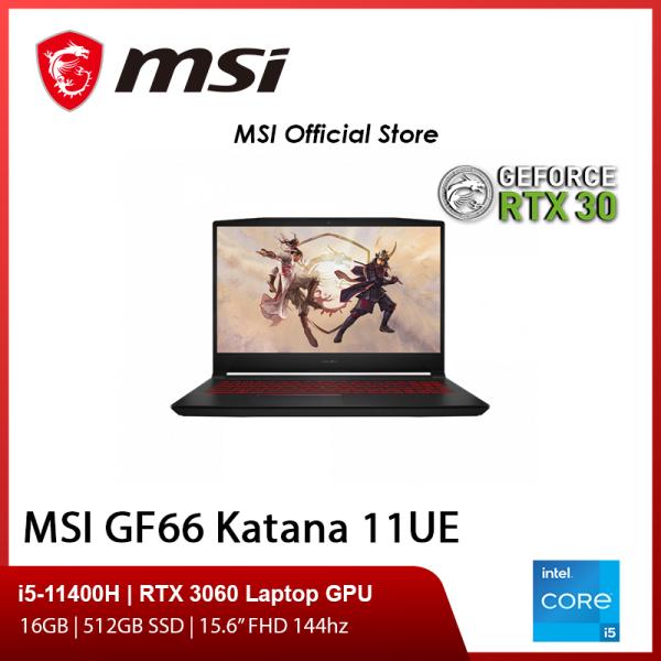 [Pre-Order] NEW GF66 11UE-253SG Gaming Laptop (i5-11400H/16GB/RTX 3060/15.6 FHD 144hz/W10/2Y)