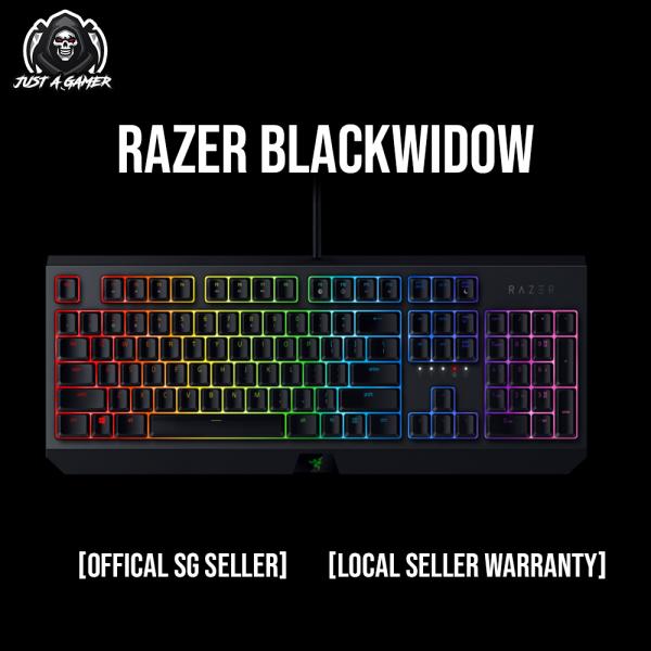 Razer BlackWidow — Mechanical Gaming Keyboard (Green Switch) Singapore