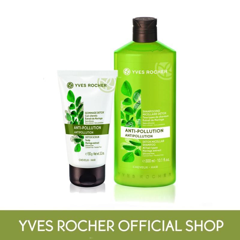 Buy Yves Rocher Hair Detox Scrub and Clean Set Singapore