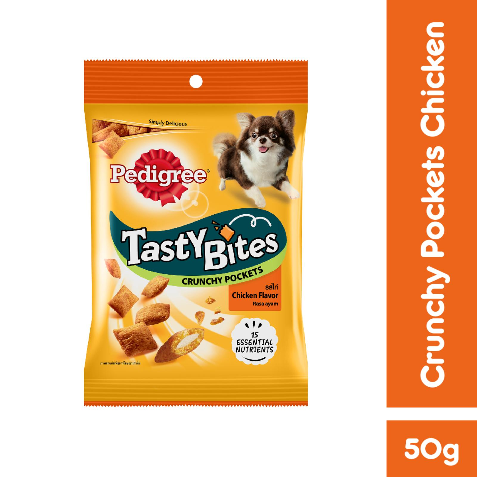 Pedigree Tasty Bites Crunchy Pockets Chicken