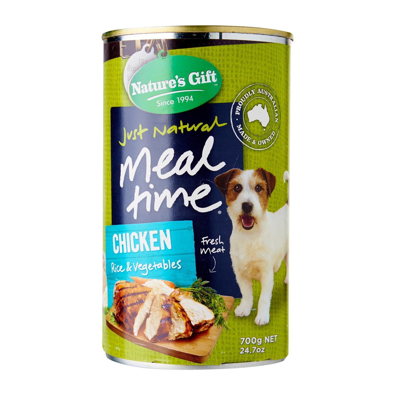 Nature's Gift Meal Time Chicken Rice And Veg Wet Dog Food
