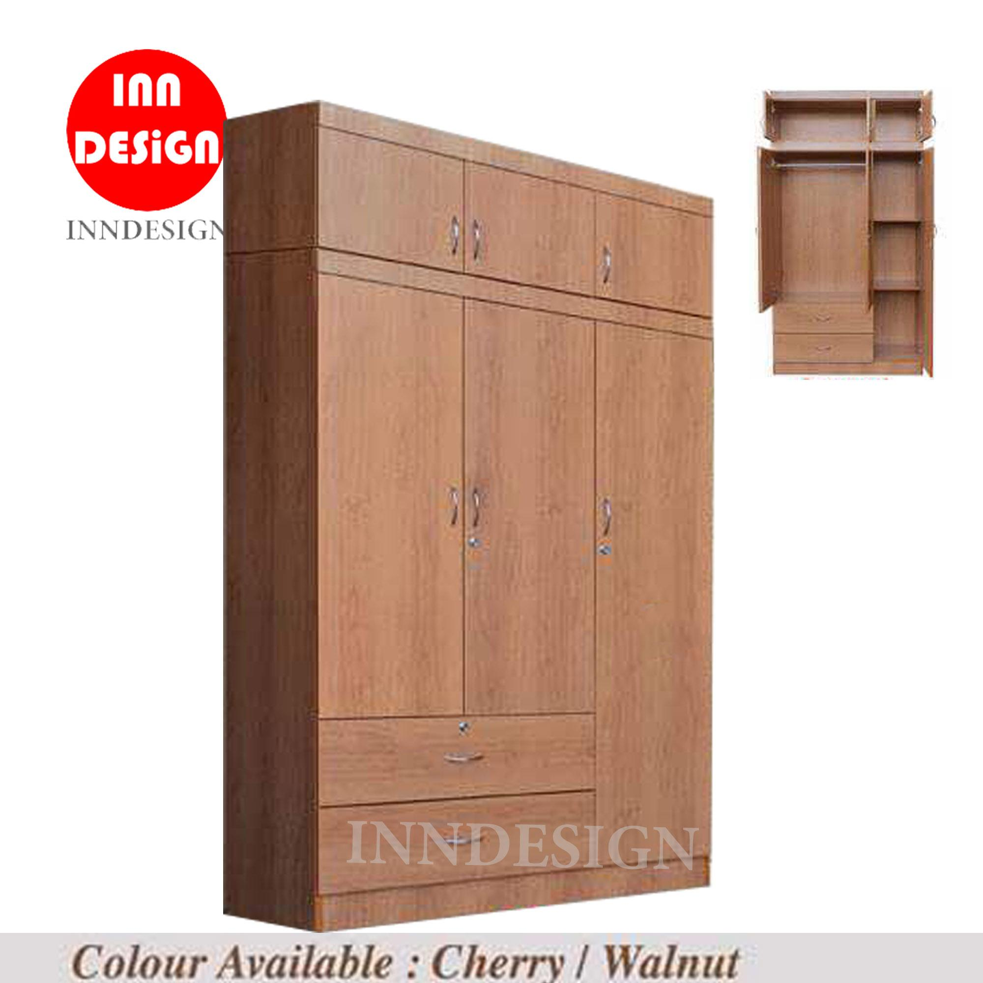 [NEXT DAY DELIVERY] Chiso L46inch 3 Doors Wardrobe (Free Installation)