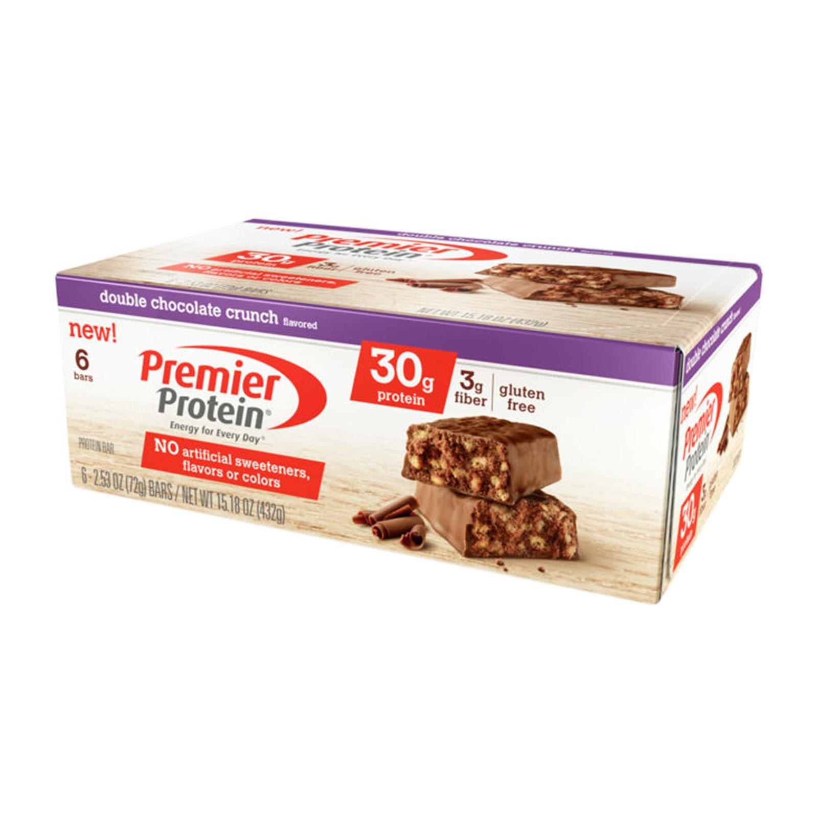 Premier Protein Double Chocolate Crunch (6 Bars)
