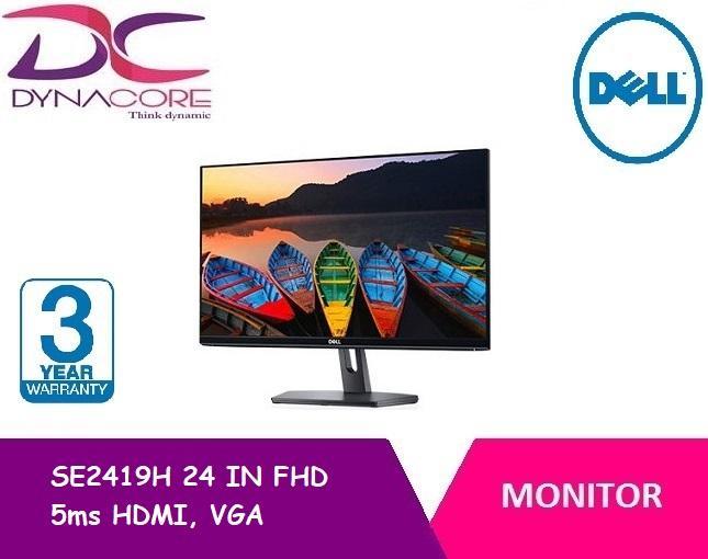 Dell SE2419H 24 IN FHD 5ms HDMI, VGA IPS monitor