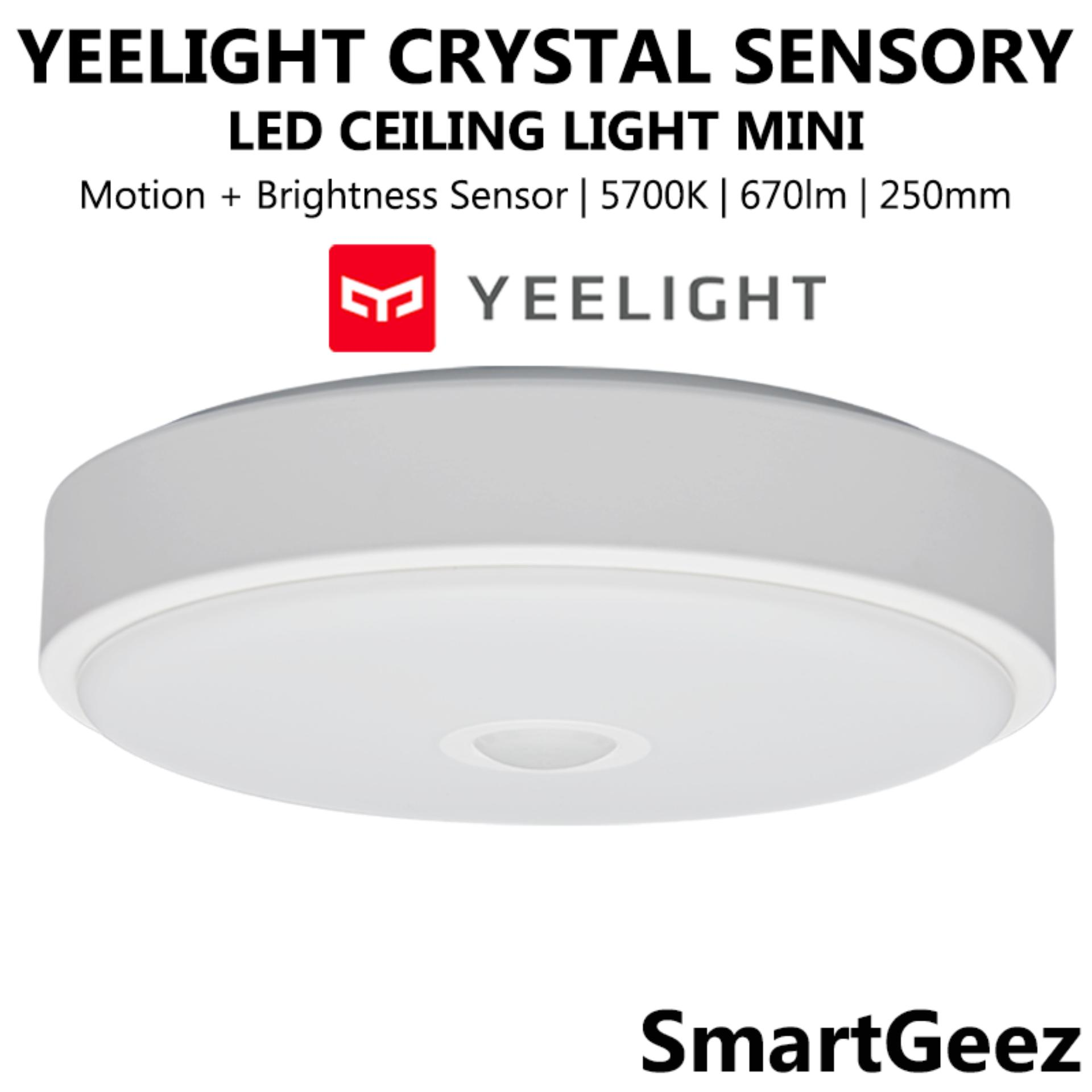 Yeelight Crystal Sensory Mini Ceiling Light 10W 670 Lumens - YLXD09YL - SmartGeez