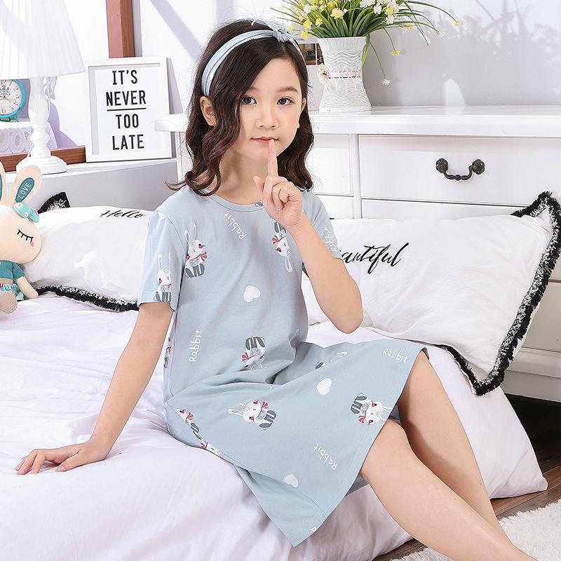 Nơi bán Váy Ngủ Thu Đông Bé Gái Trẻ Em Của Bộ Đồ Ngủ Nữ Cotton Dài Tay Công Chúa Quần Áo Trẻ Em
