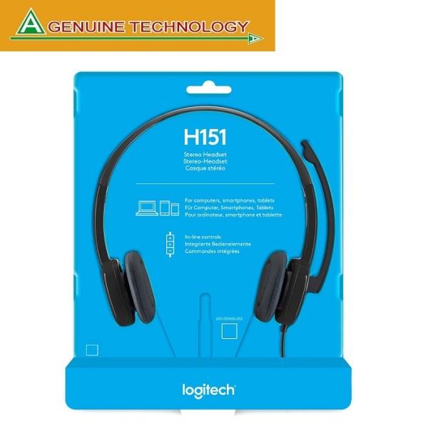 Logitech H151 Stereo Headset Singapore