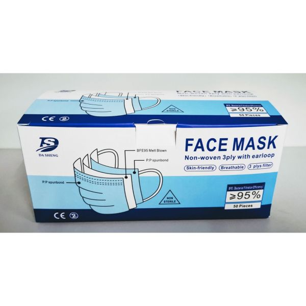 Buy [FAST SHIPPING DIRECT FROM SG WAREHOUSE] 3ply Disposable Face Mask READY STOCKS NOW Singapore