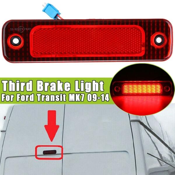 High Mount 3Rd Brake Light Car LED Third Rear Stop Tail Lamp for Ford Transit MK7 2009-2014 5128002/7C16 13N408AC