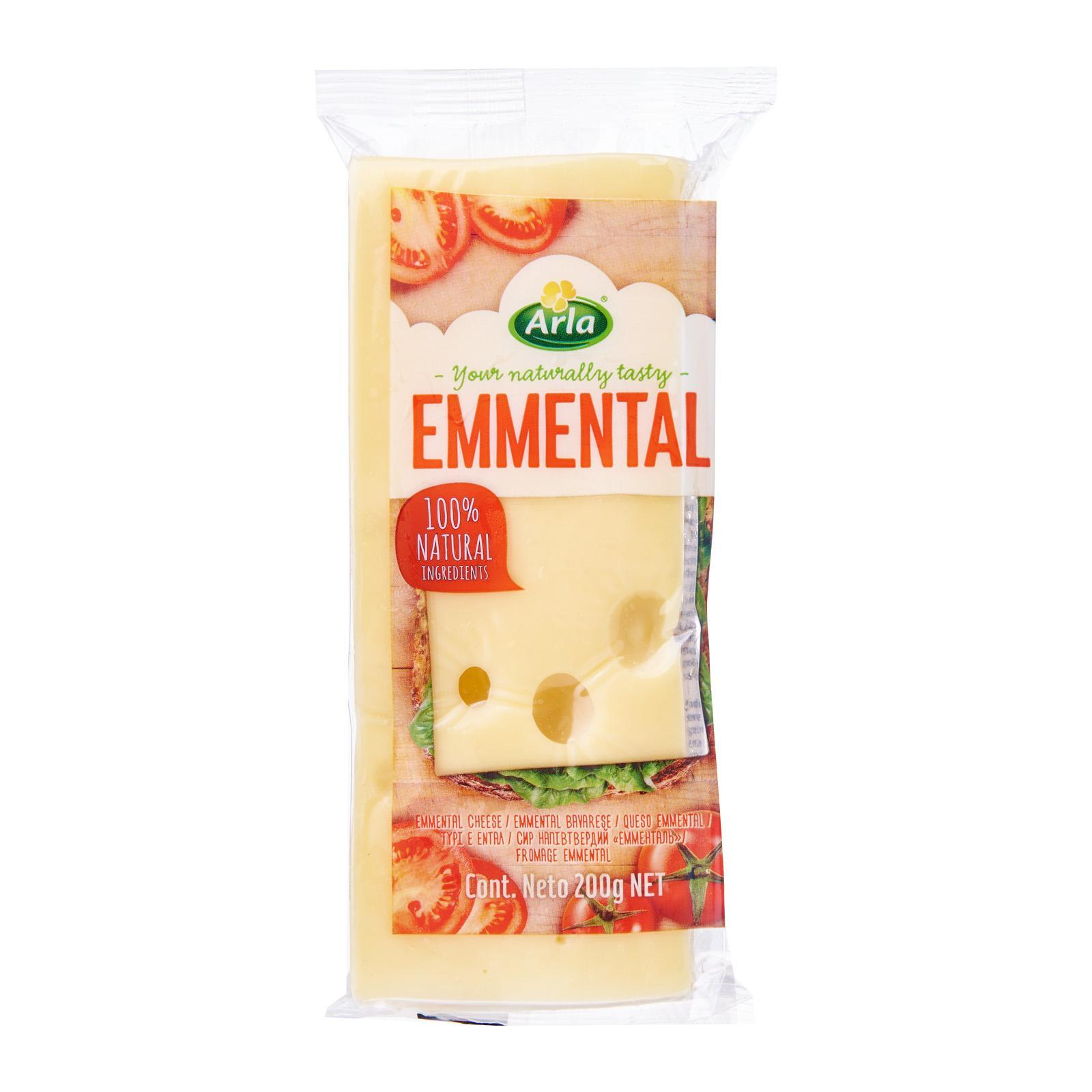 Arla Natural Emmental Block Cheese