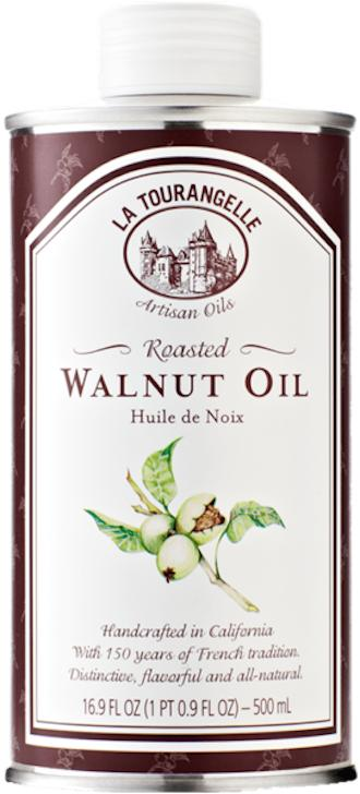 Roasted Walnut Oil 500ml Medium High Cooking Handcrafted In California With 150 Years Of French Tradition Distinctive Flavourful And All-Natural By La Tourangelle By Edvolution 66.
