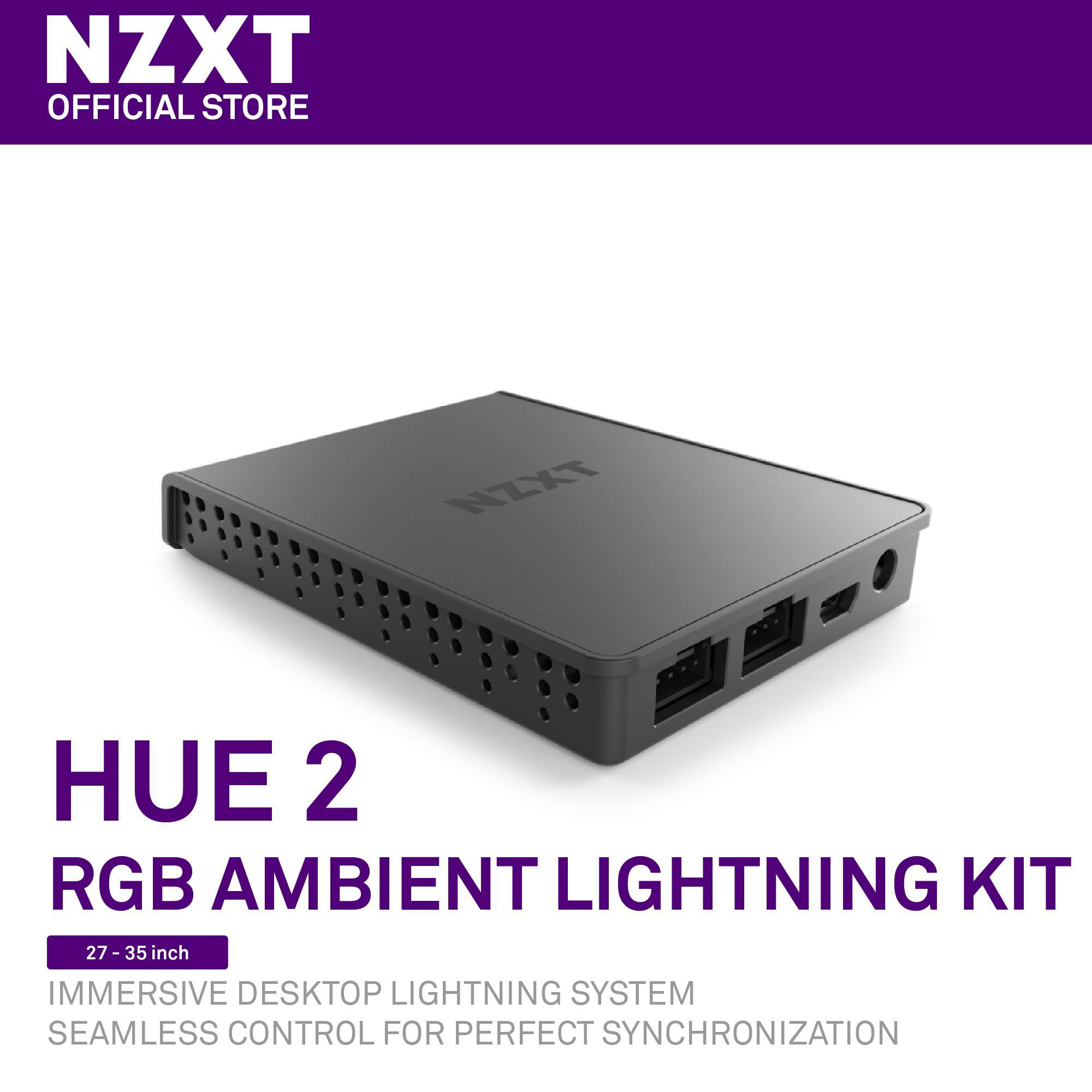 NZXT HUE 2 RGB Ambient Lighting Kit [For 27-35 inch Displays]