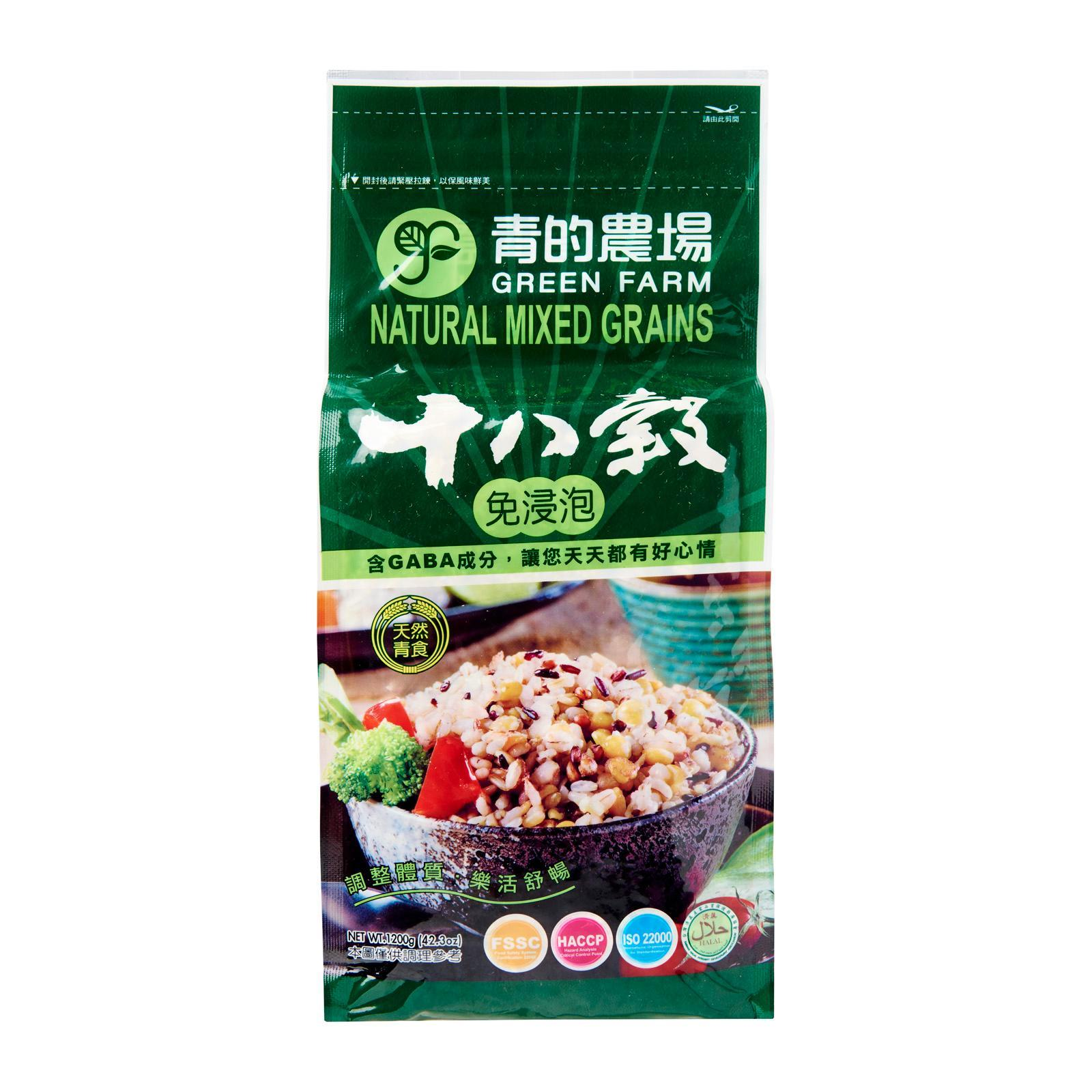 Green Farms Natural Mixed 18-Grains By Redmart.